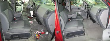 interior detailing before and after